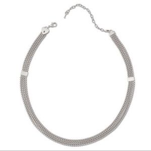 Keep Collective Multi Strand Silver Necklace NWT!